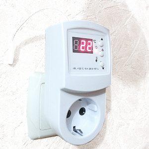 Терморегулятор розеточного типа
